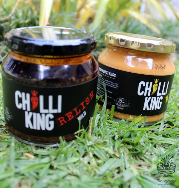 Chilli Relish and Chilli Mayo