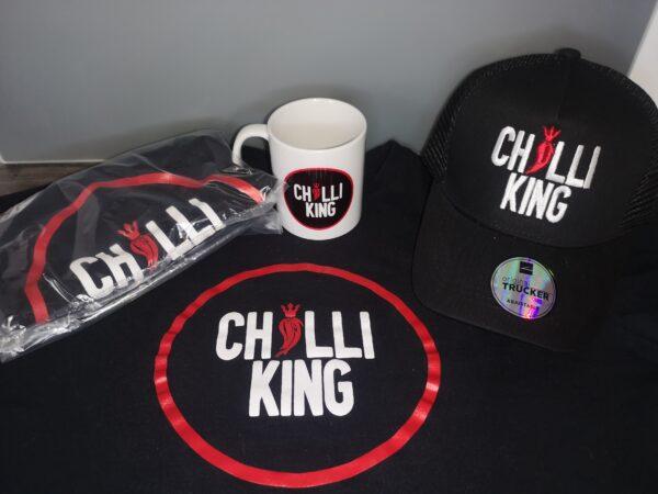 Chilli King Merchandise Bundle. The Royalhotness Merch